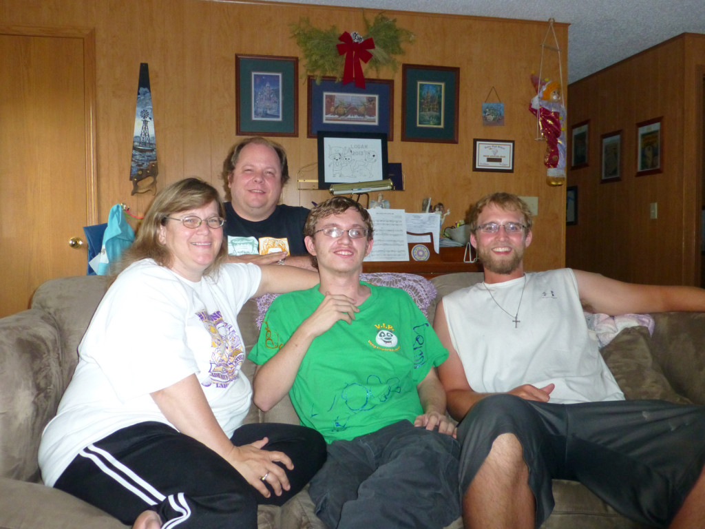 Michelle, Richard, Logan, and Mike