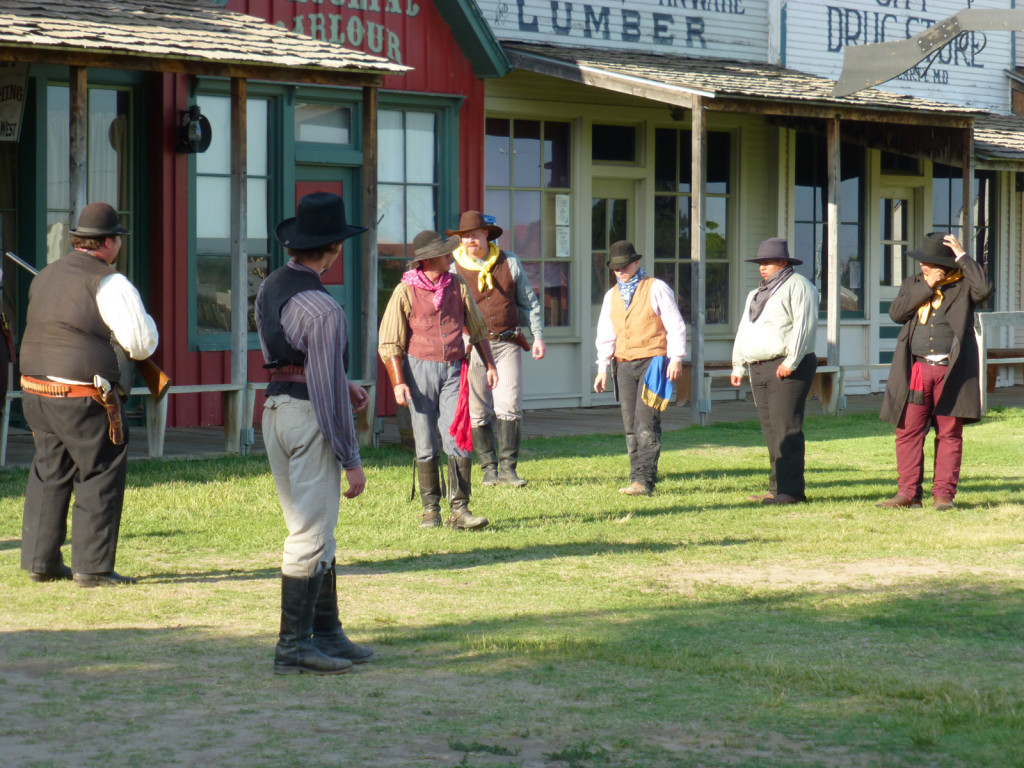 The Boot Hill Museum gunfight