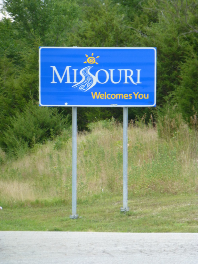 Welcome to Missouri!