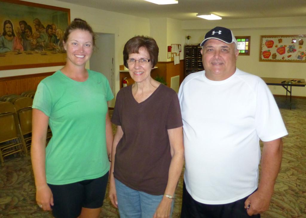 Lindsie, Janet, and Wayne