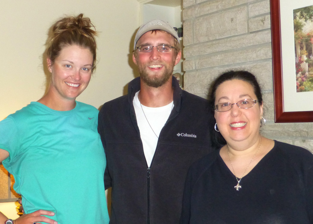 Lindsie, Mike, and Beth Ann